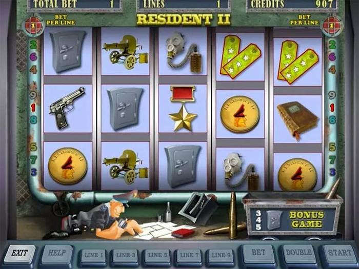 Игровой автомат RESIDENT: преимущества и атмосфера