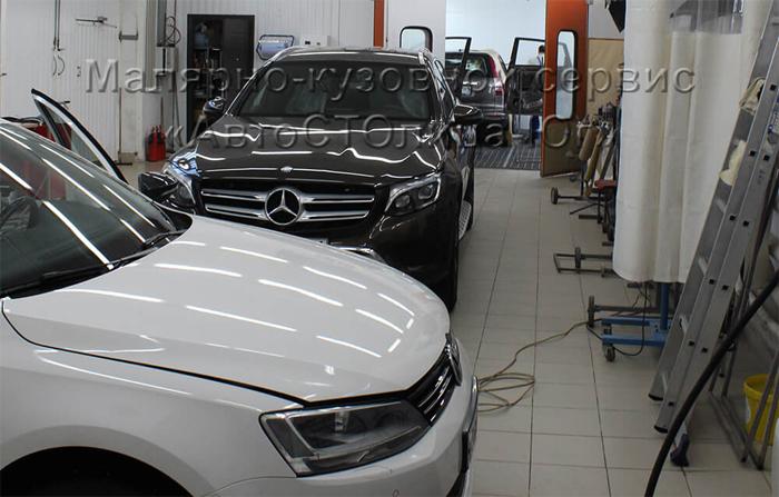 Особенности реставрации кузова авто